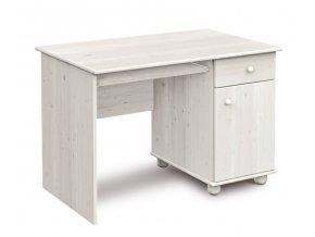 Písací stôl Faktum Tomi bielený
