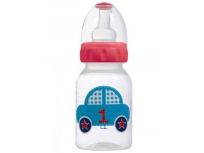 Bébé-Jou fľaštička 125 ml 1-2-3