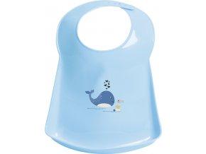 Plastový podbradník Bébé-Jou Wally Whale