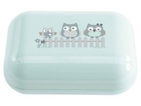 Púzdro na mydlo Bébé-Jou Owl family-sovičky