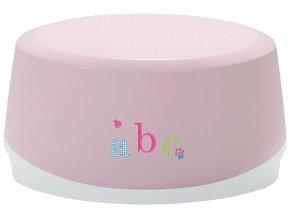 Stupienok ovál Bébé-Jou ABC světle ružová