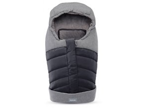 Inglesina Fusak Newborn Winter Muff Onyx Black pre vaničku a autosedačku