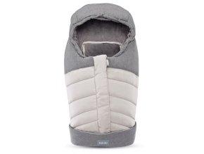 Inglesina Fusak Newborn Winter Muff Silver pre vaničku a autosedačku