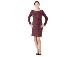 Úpletové šaty Rialto Larott 0445 (Dámská velikost 44)