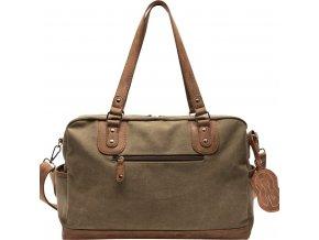 Přebalovací taška ke kočárku Nenne olive back