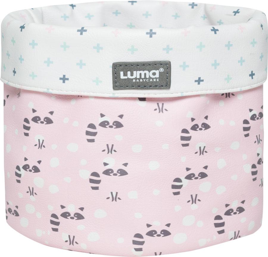 Odkladací košík Luma Racoon Pink