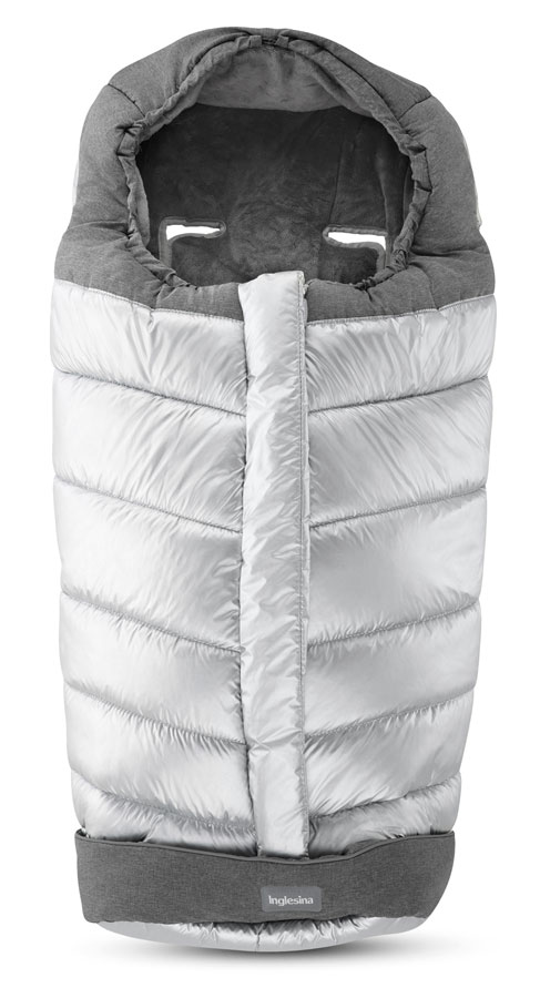 Inglesina fusak Winter Muff Cyber-Silver pre kombinovaný/Športový kočík
