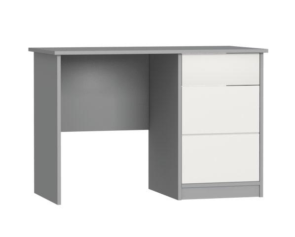 Písací stôl Faktum Alda Silk Grey