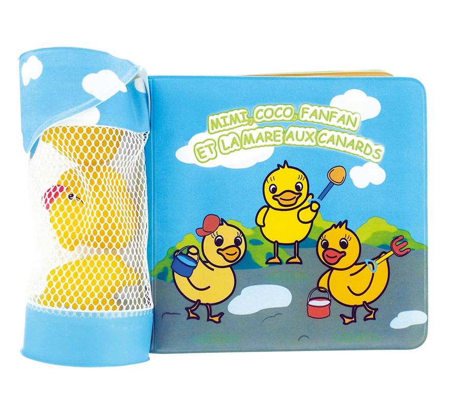 dBb Remond Dbb 3 ks Vodných hračiek Z Kaučuku a kúpacia Kniha
