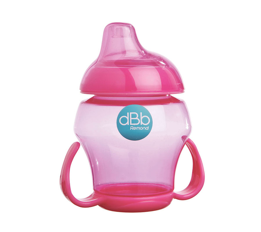 dBb Remond Dbb Baby Pohárik, 250 Ml, Ružová