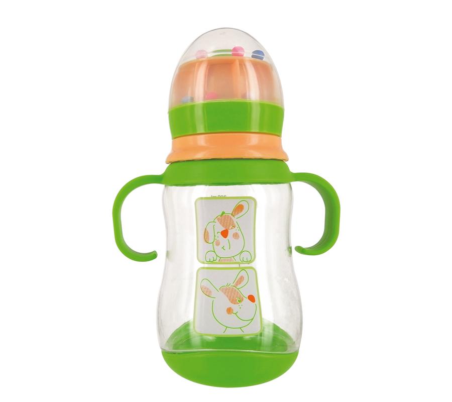 dBb Remond Dbb Detská fľaša Z Tritanu 300 ml Chien, Cumlík Silikón 4+M