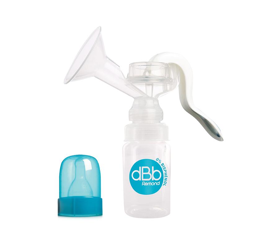 dBb Remond Dbb Ručná odsávačka mlieka, s fľaškou 120 Ml
