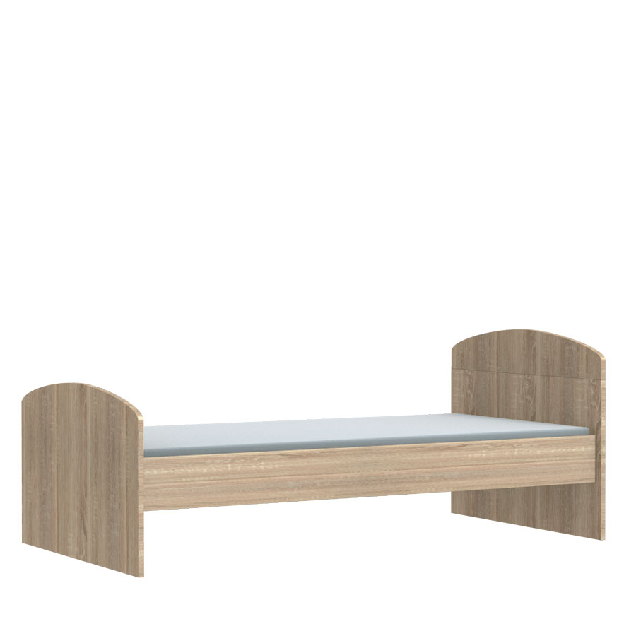 Deská posteľ Faktum Mia Sonoma 80 X 160 cm