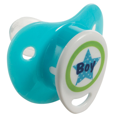 Bebe-Jou Cumlík-Silikón 0+M Bébé-Jou Boy Sv. Modrý