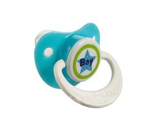 Bebe-Jou Cumlík-Silikón 6+ M Bébé-Jou Boy Sv.Modrý