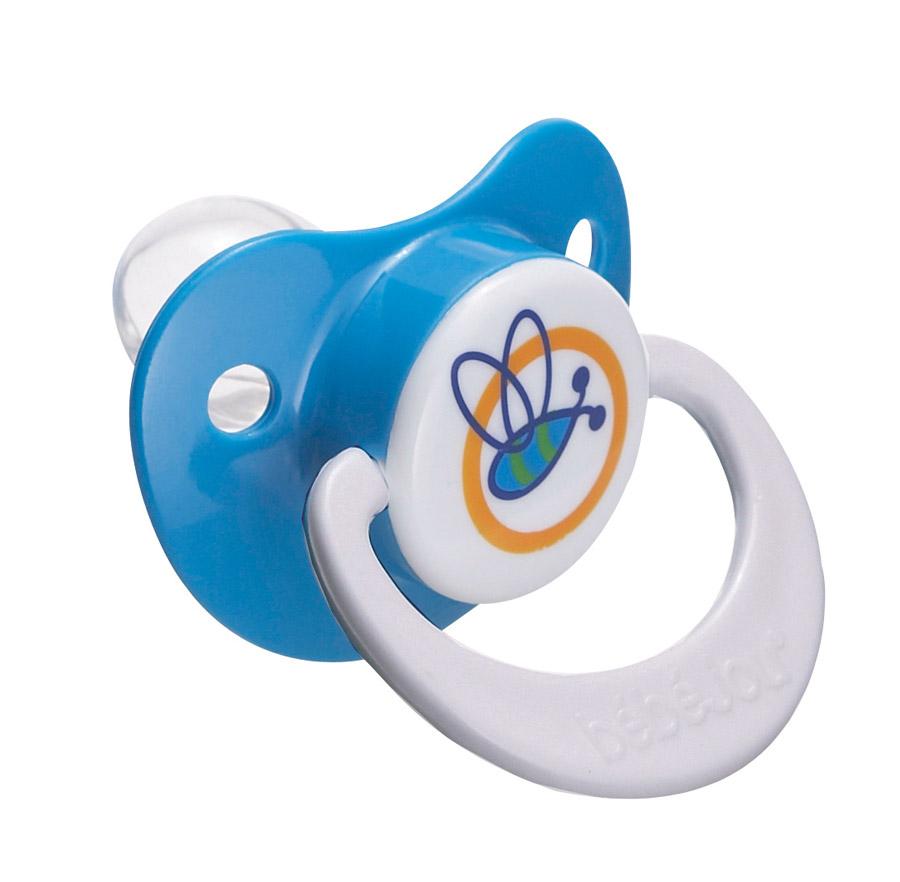 Bebe-Jou Cumlík-Silikón 6+ M Bébé-Jou Modrý Beez