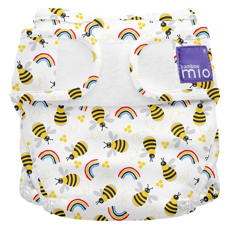 Bambino Mio Miosoft plienkové nohavičky Honeybee Hive Veľ. 1