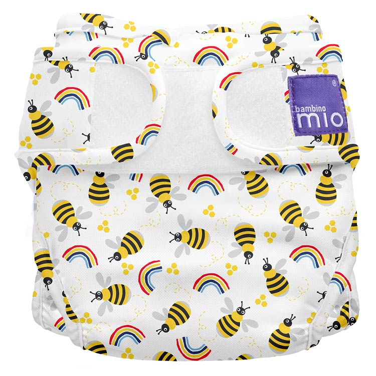 Bambino Mio Miosoft plienkové nohavičky Honeybee Hive Veľ. 2
