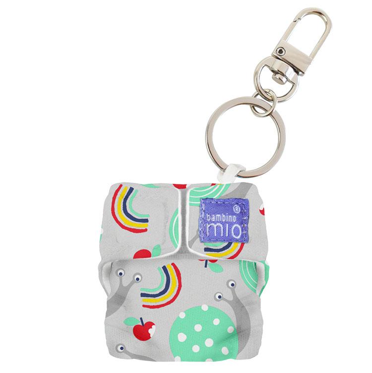 Kľúčenka Minisolo Bambino Mio, Snail Surprise
