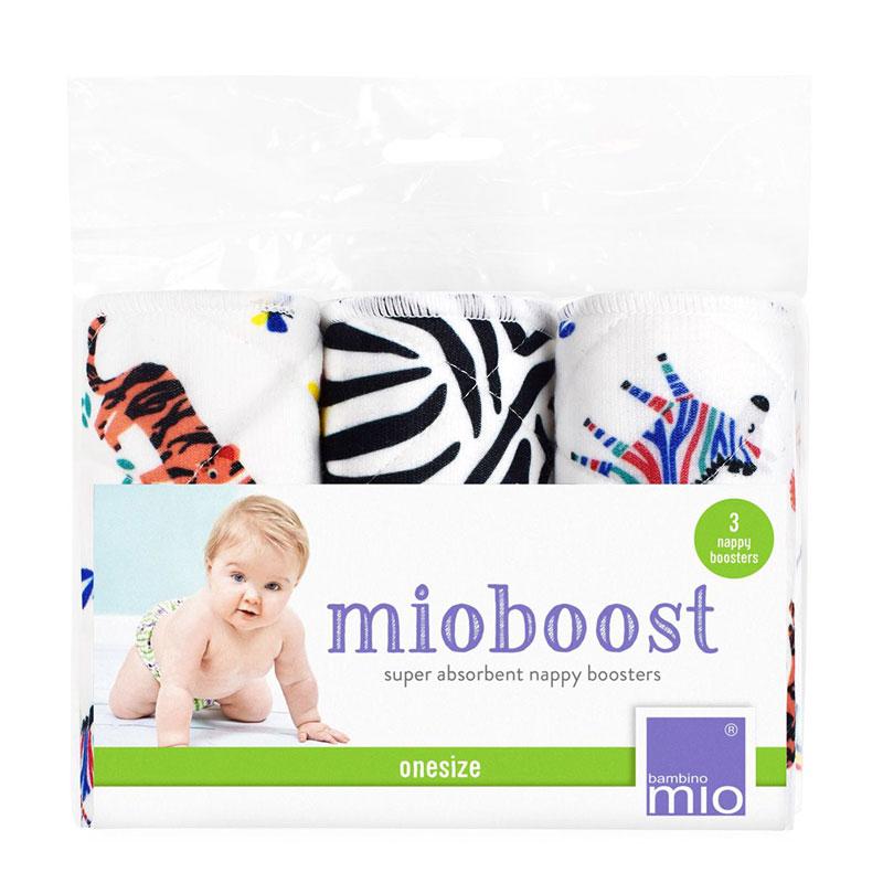 Bambino Mio absorpčné vložky Mio Boost Savanna Stripes 3 ks