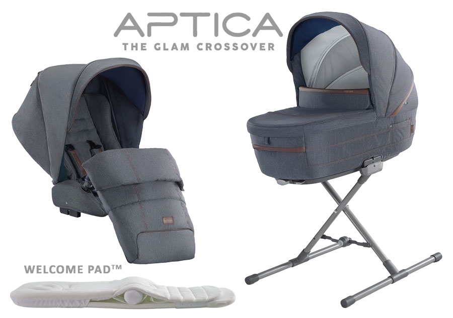 Inglesina Aptica System Duo 2020 Tailor Denim