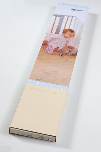 Baby Dan Predĺženie pre zábrany Babydan 2 ks á 7 cm čierne