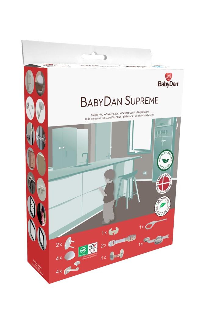 Baby Dan BabyDan set bezpečnostných prvkov 16 ks Starter safety set, BIO