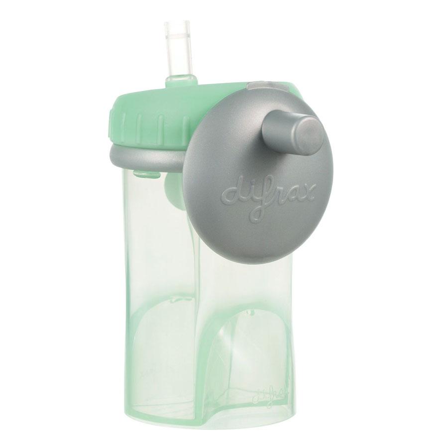 Detský hrnček so slamkou Difrax mint, 250 ml