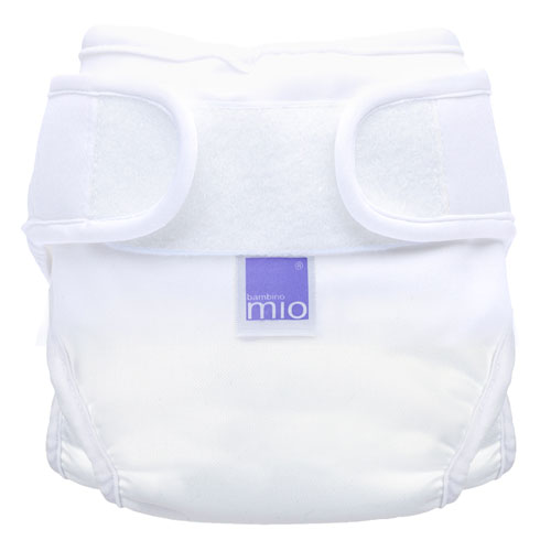 Bambino Mio Miosoft plienkové nohavičky Biele Veľ. 1