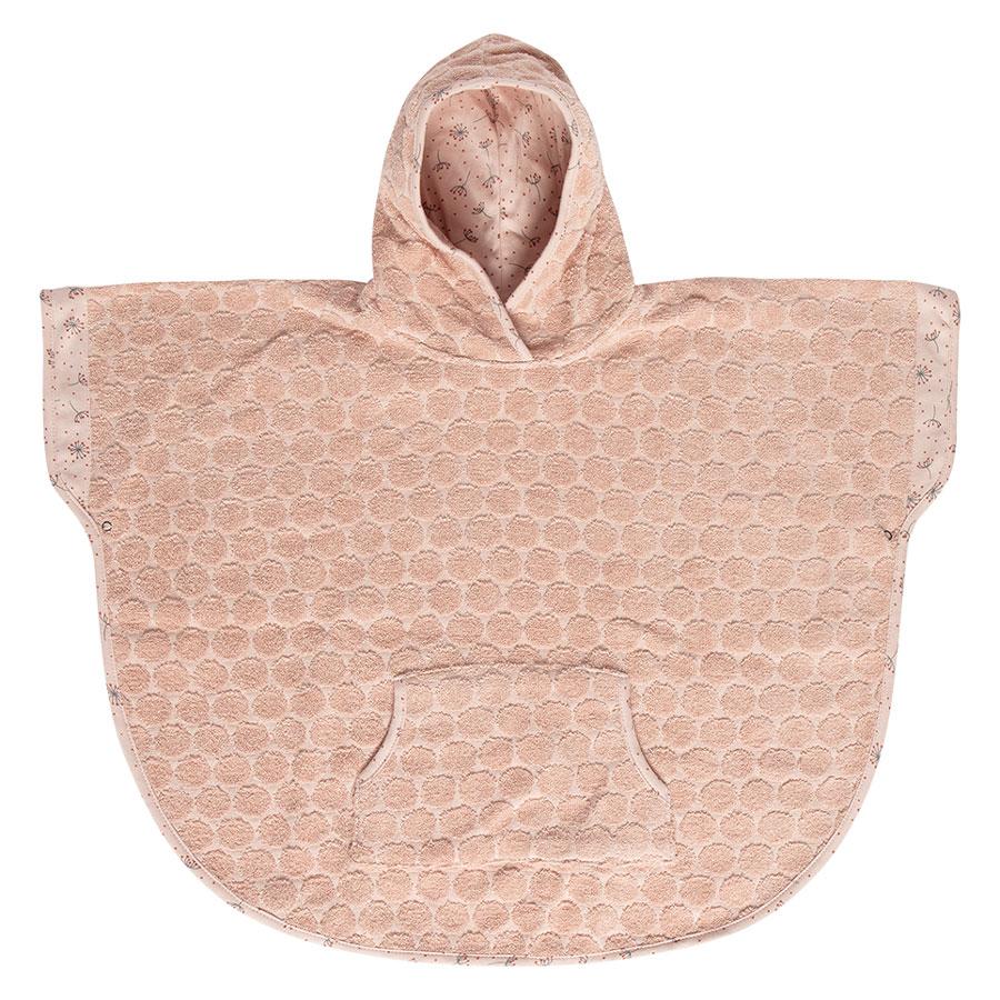 Bebe-Jou Froté pončo Bébé-Jou Fabulous Wish Pink