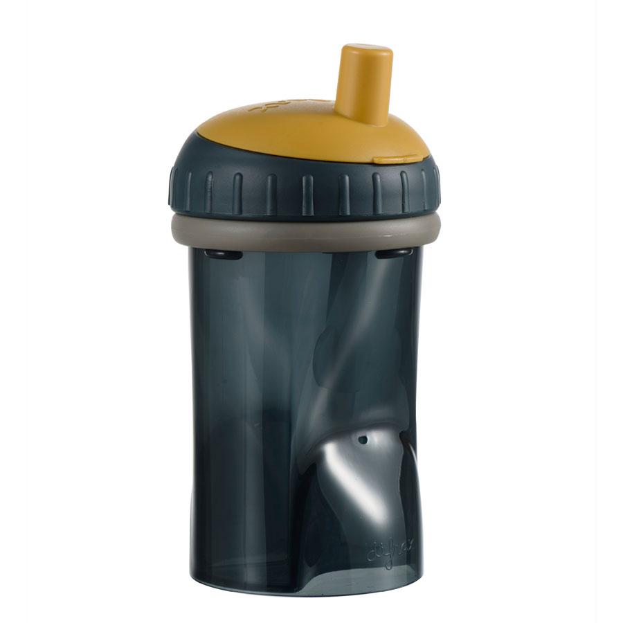 Detský hrnček so slamkou Difrax, clay, 250 ml