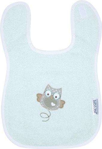 Bebe-Jou Froté podbradník Bébé-Jou Owl Family Sovičky