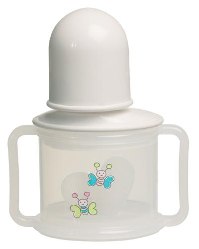 Bebe-Jou Nekvapkajúci hrnček Bébé-Jou Butterfly