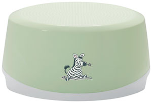 Bebe-Jou Stúpadlo ovál Bébé-Jou Dinky Zebra Svetlozelené