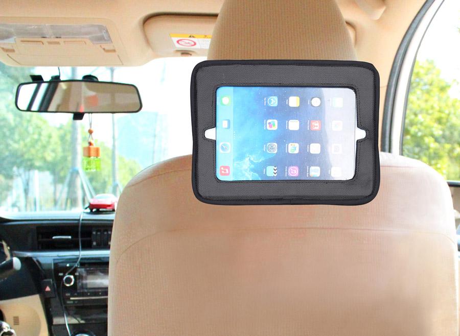 Baby Dan Držiak tabletu a Baby zrkadlo do auta, Lux Grey