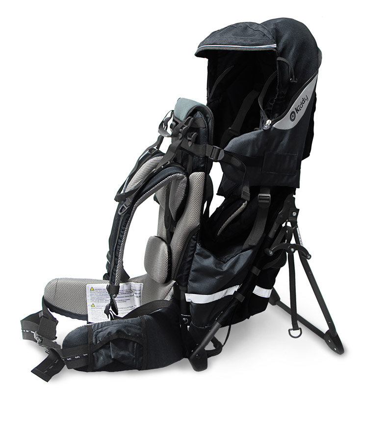 Kiddy krosna Adventure Pack Onyx Black