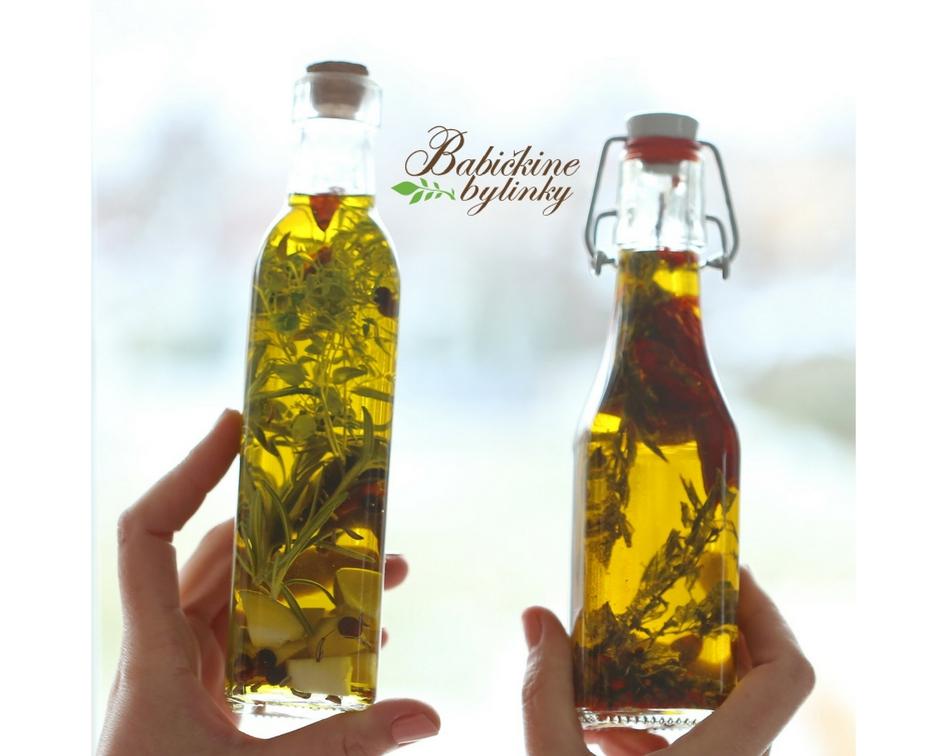 Bylinkový olej na varenie