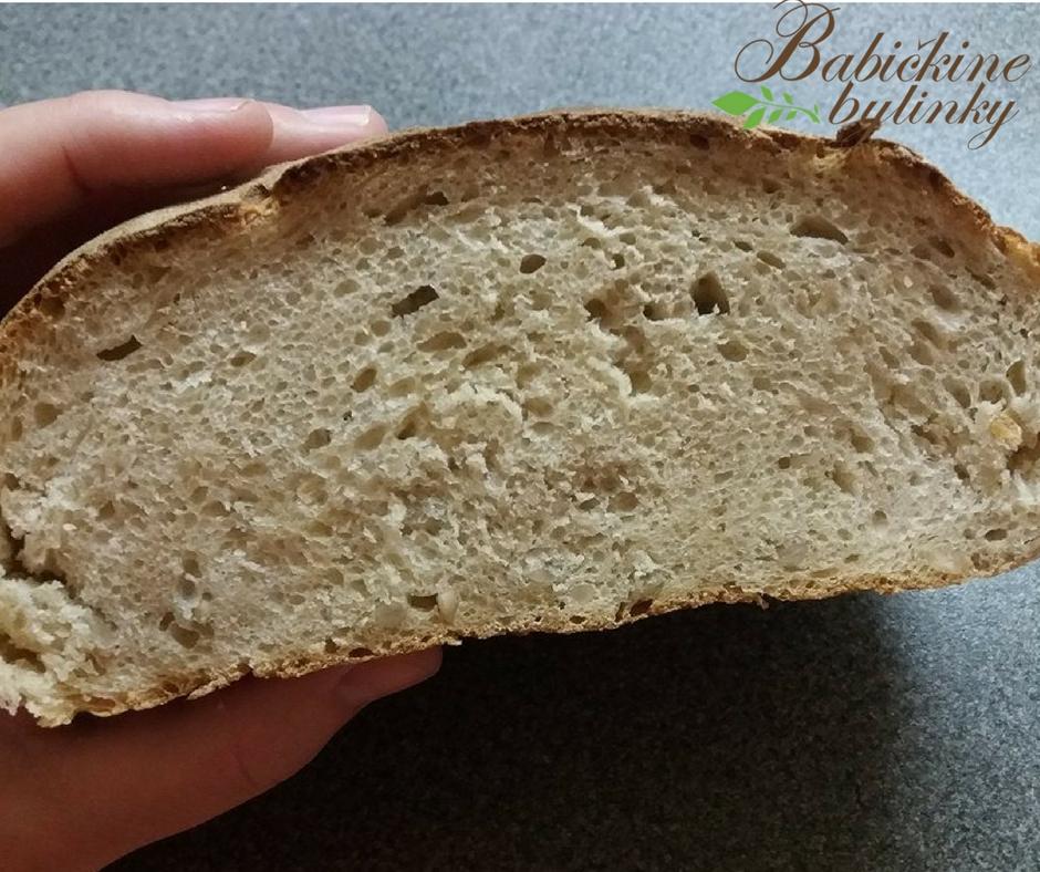 Prvý kváskový chlebík krok po kroku