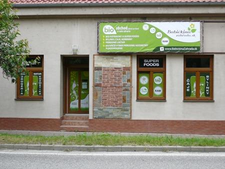 BIO predajňa v Nitre