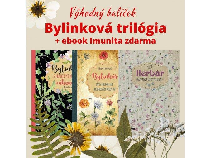 Kniha + Bylinkár + Herbár