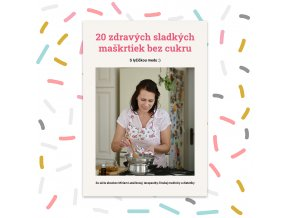 20 sladkych maskrtiek bez cukru produkt