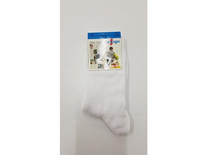 Dětské ponožky - bílé