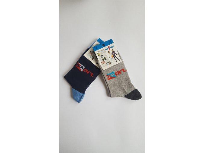 Dětské ponožky - sport 2 páry