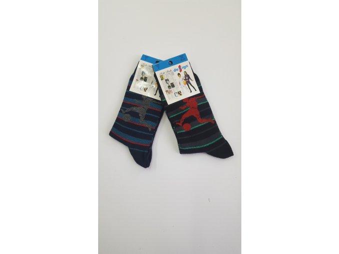 Dětské ponožky - fotbalista 2 páry