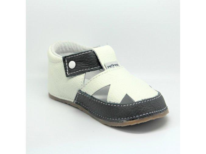 15039 sandálek bílá