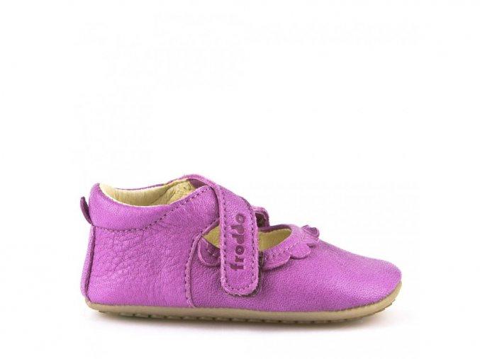 Froddo kožené sandálky Prewalkers G1140002 fuchsia