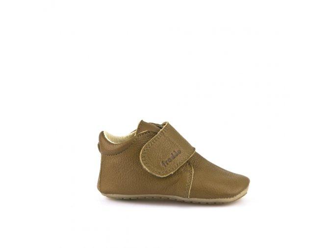 Froddo kožené capáčky/sandálky Prewalkers G1130005-4 hnědé