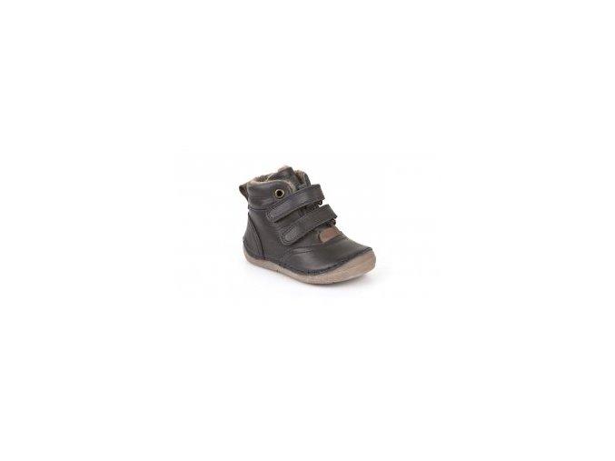 Froddo kožené zimní boty G2110069-K Dark Blue