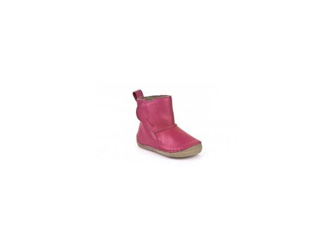 Froddo kožené zimní boty G2160040-8K Fuchsia