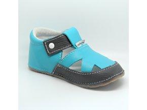 15040 sandálek azurová